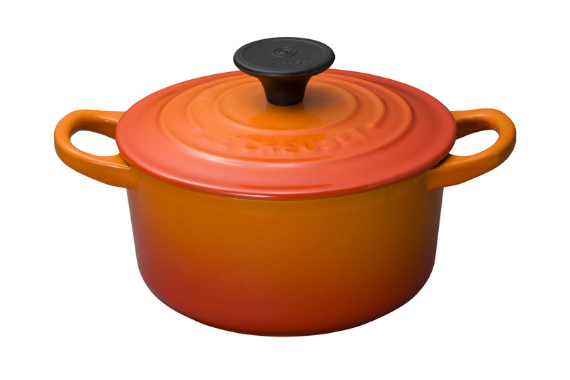 Le Creuset for Professionals ココット・ロンド 14cm オレンジ
