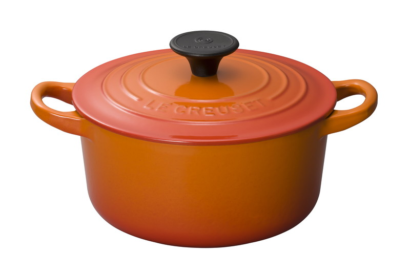 Le Creuset for Professionals ココット・ロンド 16cm オレンジ