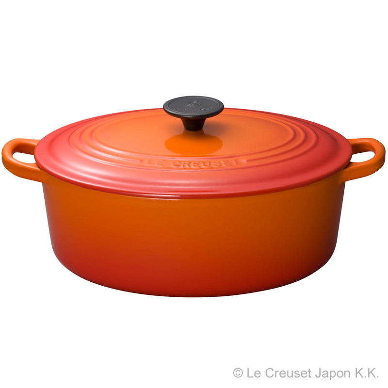 Le Creuset for Professionals ココット・オーバル 29cm オレンジ