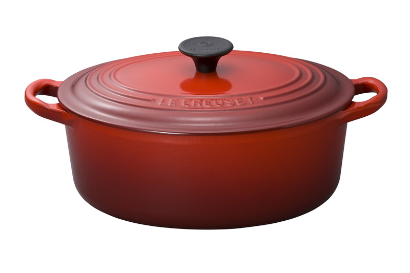 Le Creuset for Professionals ココット・オーバル 31cm チェリーレッド