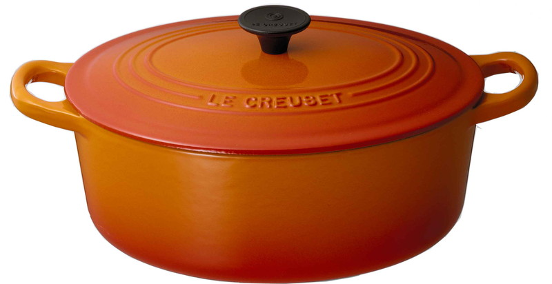 Le Creuset for Professionals ココット・オーバル 31cm オレンジ